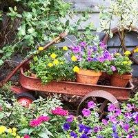 Creative Handmade Garden Decorations, 20 Recycling Ideas ...