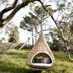 Hanging Outdoor Chairs Peg Perego Siesta High Chair Cover Wicker Furniture Collection From Dedon Innovative Daybed