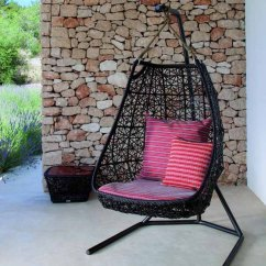 Swing Chair With Stand Outdoor Stool Walmart 20 Hanging Hammock Designs Stylish And Fun Furniture