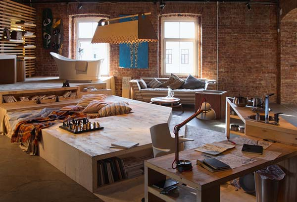 mixing furniture styles living room decorating ideas for a loft space, modern interior design and trends in ...