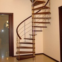 Modern Interior Design with Spiral Stairs, Contemporary ...