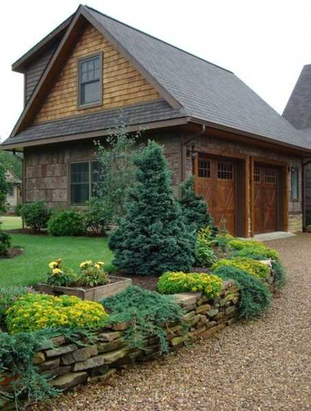 charming country home driveways