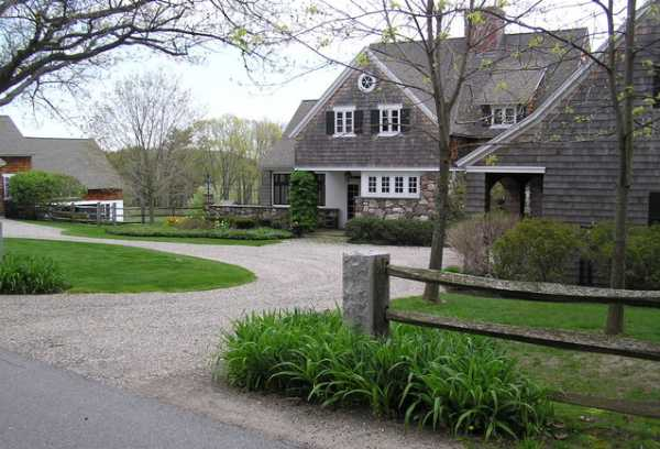 Charming Country Home Driveways Natural Driveway Landscaping Ideas