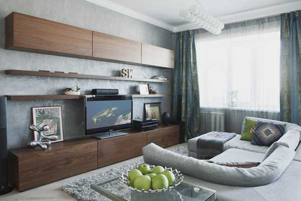 Small Apartment Decorating with Light Cool Colors Contemporary Apartment Ideas