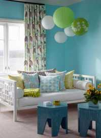 Light Blue and Green Colors Soothing Modern Interior ...