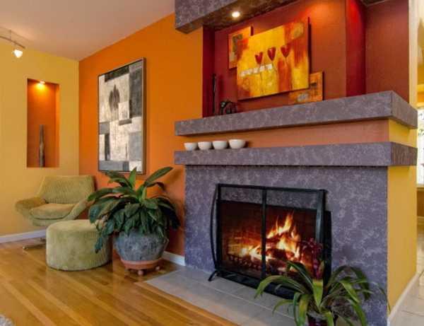 Fall Candles Wallpaper Modern Interior Design Ideas Celebrating Bright Orange