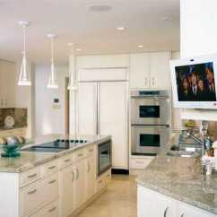 Kitchen Tv Mount Best Lighting 7 Modern Design Trends Stylishly Incorporating Sets Into By Ena Russ Last Updated 18 10 2012