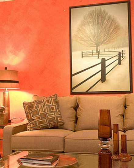 brown and orange living room tv unit designs in 22 modern interior design ideas blending colors dining furniture chairs seats