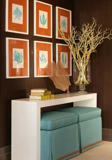 brown and orange living room unique wall decor 22 modern interior design ideas blending colors dining furniture chairs seats by ena russ last updated 25 10 2016