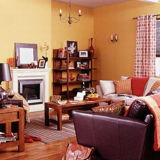 brown and orange living room accessories 22 modern interior design ideas blending colors dining furniture chairs seats