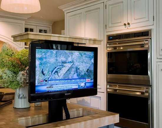 7 Modern Kitchen Design Trends Stylishly Incorporating TV