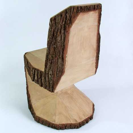handmade wooden chairs vintage childs rocking chair 25 wood furniture design ideas modern salvaged stools and benches