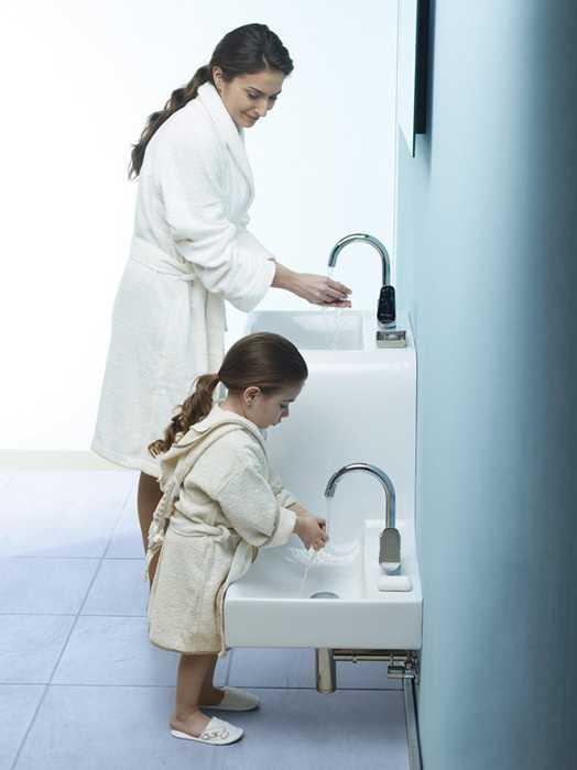 Kids Friendly Bathroom Sinks Family Basin Blending Style