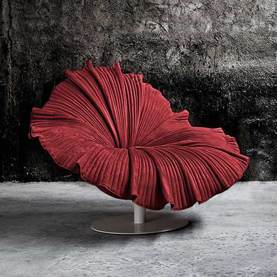 Bloom Chair Design Unique Furniture Bringing Bright Color and Exotic Look into Home Decorating