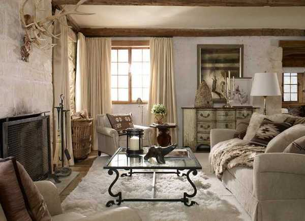 country home decorating ideas living room small colour 2018 alpine decor rustic elegance from ralph lauren design in neutral colors handmade accessories and beautiful fabrics for elegant winter decoration