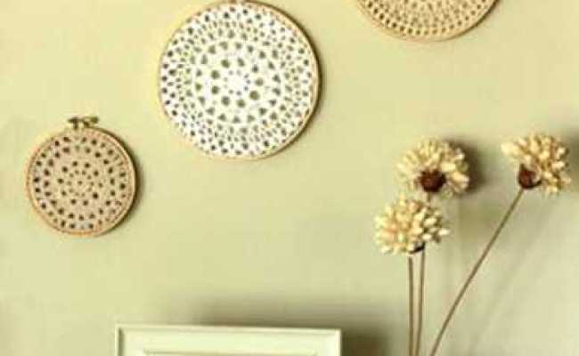 10 Diy Wall Decor Ideas Recycled Crafts And Cheap