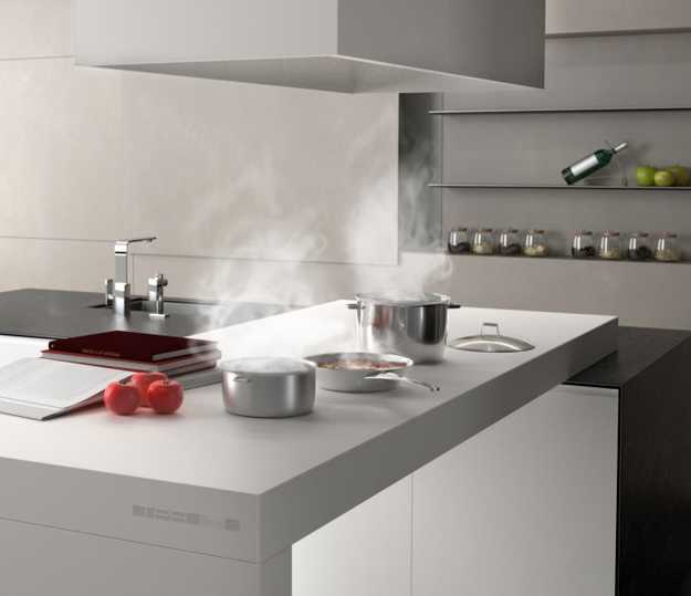 New Kitchen Countertop Material Creating Clean
