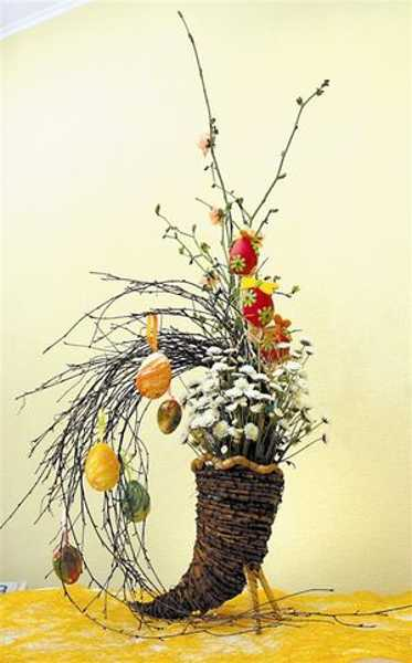 Handmade Easter Tree Decorations Offer Stunning