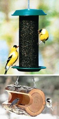Modern Bird Feeders Attract Birds and Add Beautiful Yard