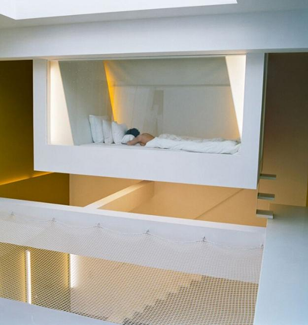 25 Hanging Bed Designs Floating in Creative Bedrooms