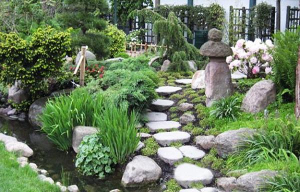 beautiful japanese garden design