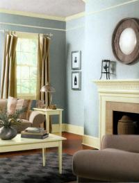 Modern Living Room and Dining Room Decorating Color ...