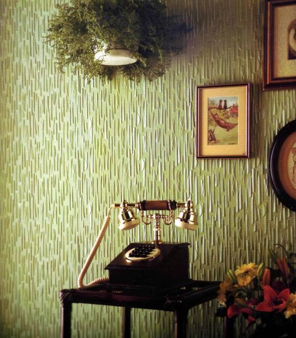 Modern Interior Design With Lincrusta Offering Versatility
