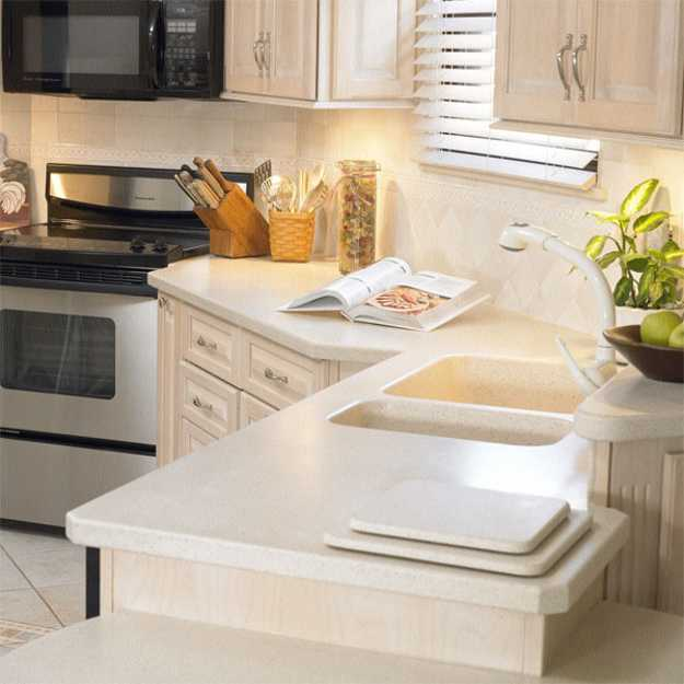 40 Great Ideas for Your Modern Kitchen Countertop Material and Design