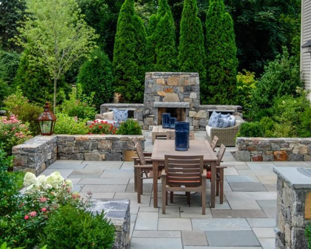 30 stone wall pictures and design ideas
