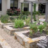 15 Charming Garden Design Ideas with Stone Edges and ...