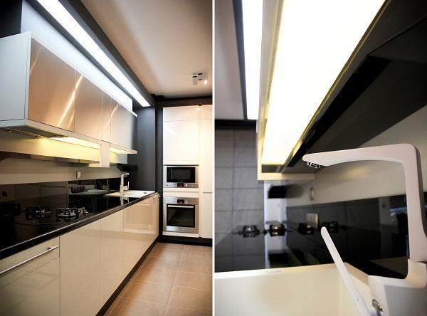 Modern Apartment Ideas with Futuristic Vibe Decorating