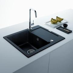 Black Sink Kitchen Cabinet Hardware Sinks Countertops And Faucets 25 Ideas Adding White Design With A Accessories