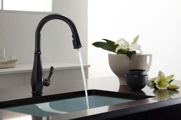 black sink kitchen handmade table sinks countertops and faucets 25 ideas adding deep red cabinets with