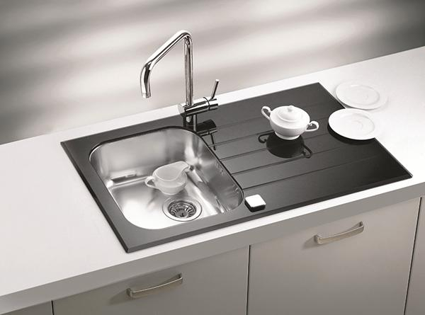 small kitchen sinks trending appliances black countertops and faucets 25 ideas adding deep red cabinets with