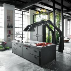 Kitchen Hood Design Rooms To Go Islands Unique Brings Industrial Style Into Contemporary Blask Metal For Kitchens And Loft Designs