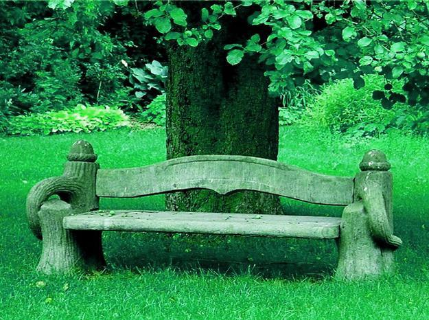 30 Unique Garden Benches Adding Inviting And Decorative