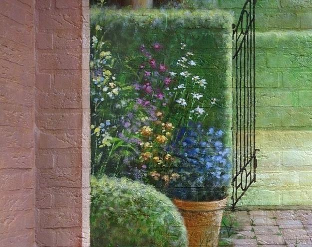 Amazing Painting Ideas For Brick Walls Creating Optical Illusions