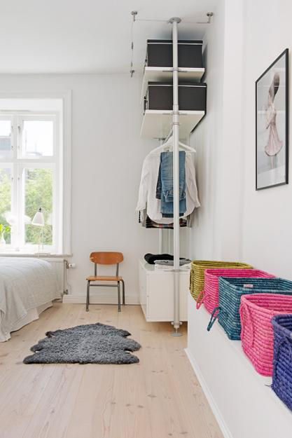 Bright Interior Design On Small Budget Small Apartment Decorating In Scandinavian Style