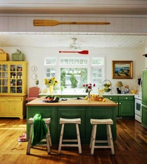colors for kitchens white kitchen appliances 20 modern decorated in yellow and green