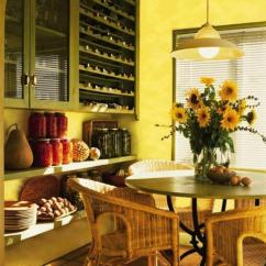 Light Oak Kitchen Cabinets Counter Ideas 25 For Dining Room Decorating In Yelow And Green Colors