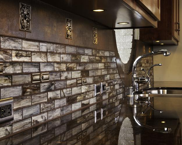 kitchen tile designs fluorescent light fixture top modern ideas for decorating with stylish wall