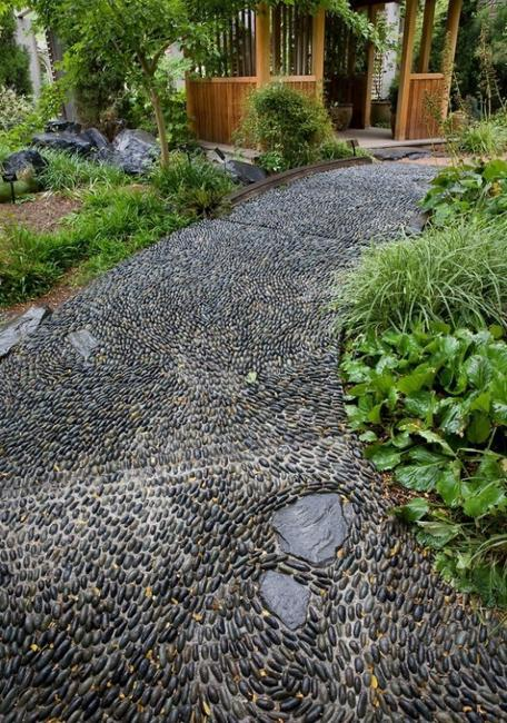 Garden Stones And Pebbles