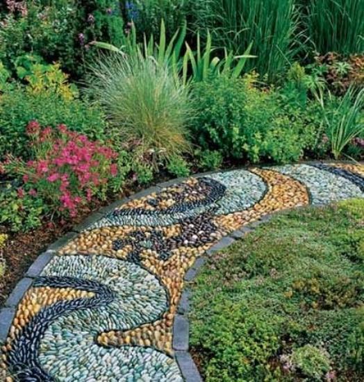 beautiful garden path design