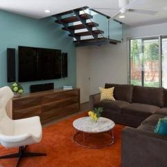 Color Schemes For Living Rooms With Dark Brown Furniture How To Decorate Your Room Black And Colors Modern Interior Design Trends Blue Wall Paint In