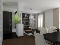 Modern Interior Design Blending Aquarium Room Divider with ...