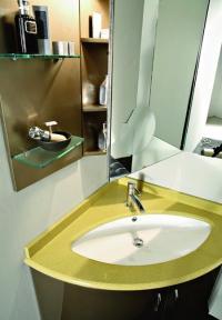Corner Bathroom Sinks Creating Space Saving Modern ...