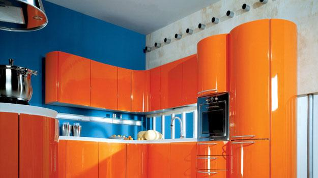 25 Ideas for Modern Interior Decorating with Orange Color Shades
