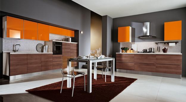 Interior Design Yellow Kitchen