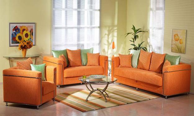 orange living room designs chinese furniture 25 ideas for modern interior decorating with color shades