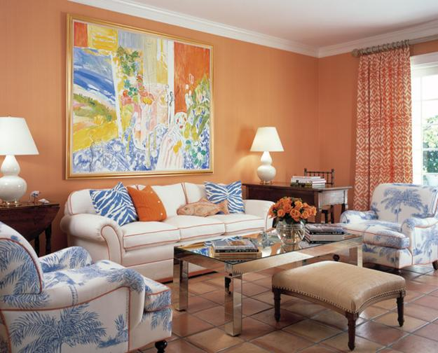 25 Ideas For Modern Interior Decorating With Orange Color